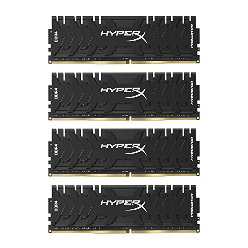HyperX Predator HX430C15PB3K4/32 Arbeitsspeicher 3000MHz DDR4 CL15 DIMM XMP 32GB Kit (4x8GB) schwarz