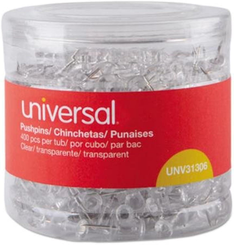 Unv31306 – Universal klar Push-Pins Push-Pins Push-Pins B01N6DI9TJ | Schöne Farbe  ad5a15