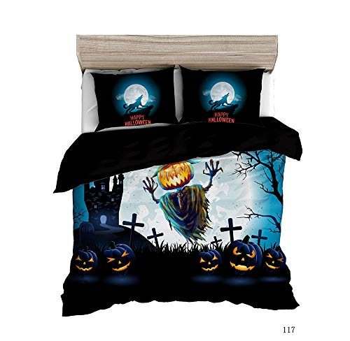 Artezxx Beddengoedset, 100% zacht en aangenaam microvezel, slaapcomfort, 1 dekbedovertrek met ritssluiting + 2 kussenslopen voor de slaapkamer