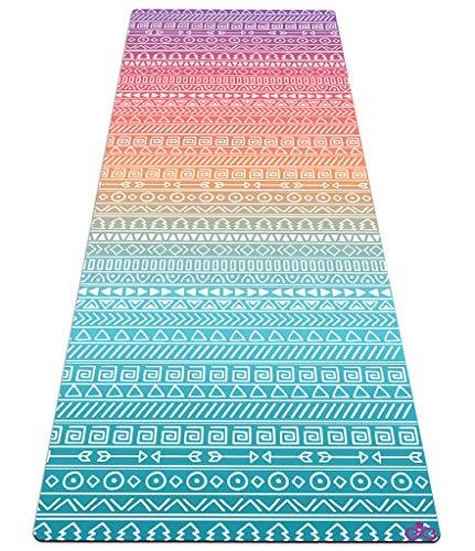 Reetual, The Anusara Yoga Mat That Adores Sweat, Premium 2in1 Yoga Mat For Anusara Yoga Non Slip Combo Towel -...