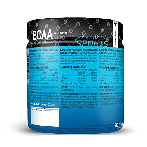 Bodylab24 BCAA Pulver, 275g - 2