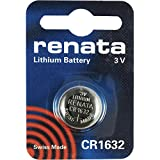 CR1632 Batteria Pulsante / Litio 3V / per Orologi, Torce, Chiavi della Macchina, Calcolatrici, Macchine Fotografiche, etc / iCHOOSE