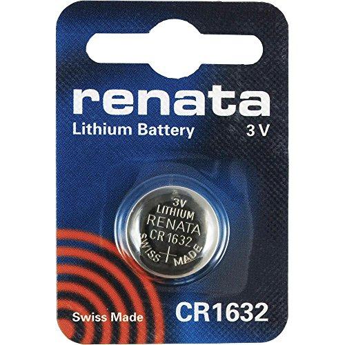CR1632 Münzen-Batterie / Lithium 3V / für Uhren, Taschenlampen, Autoschlüssel , Taschenrechner , Kameras, etc / iCHOOSE