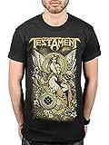 Testament Maiden T-Shirt Thrash Metal Band Rock Fan Merch