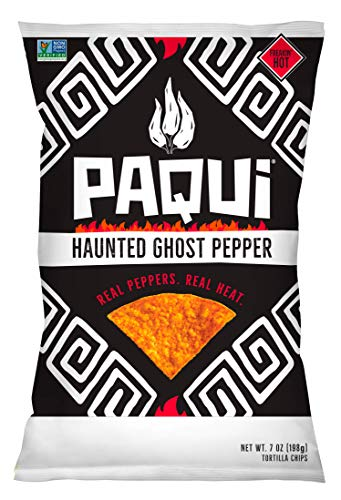 Paqui - Tortilla Chips Haunted Ghost Pepper - 7 oz.