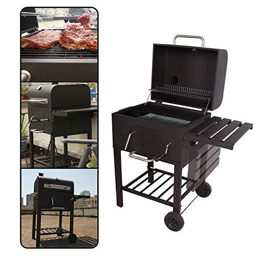 CCLIFE BBQ Barbacoa Carbón pariila Barbacoa Carbon y leña Barbacoa leña