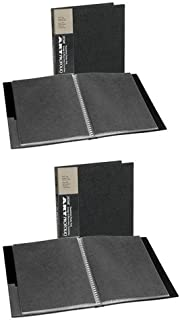 Itoya Art Portfolio  8x10-Inch Storage Display Book (Pack of 2)