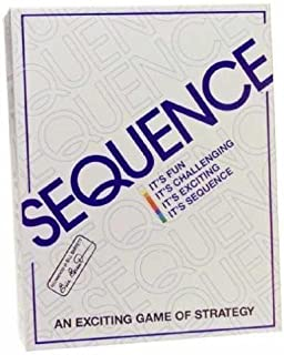 Jax Original Sequence Board Game - Includes Bonus Deck of Standard Playing Cards!