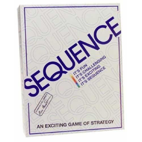 Jax Original Sequence Board Game  Includes Bonus Deck of Standard Playing Cards