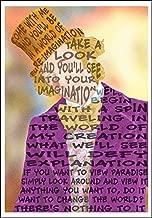 Willy Wonka quote mini-print 5x7