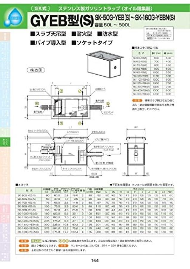 はっきりしない協力する象GYEB型(S) SK-110G-YEBN(S) 耐荷重蓋仕様セット(マンホール枠:ステンレス / 蓋:SS400) T-14