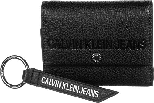 Calvin Klein Jeans CKJ Banner Trifold MD + Keyfob geschenkset