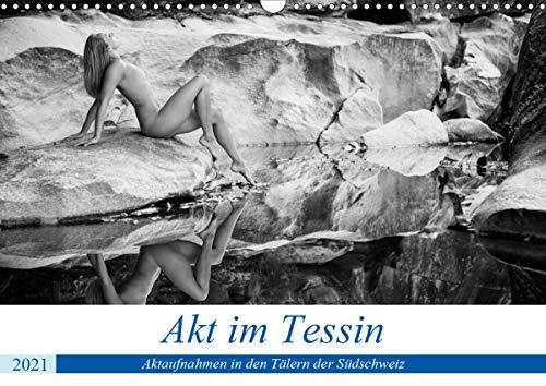 Akt im Tessin (Wandkalender 2021 DIN A3 quer)