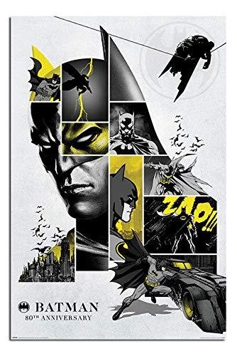 Batman 80th Anniversary Poster Maxi - 91.5 x 61cms