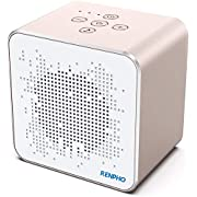 Sound Machine, RENPHO White Noise Machine for Sleeping Adult, Baby with Soothing Sounds, Memory Timer Function, Portable White Noise Machine for Office Privacy, Travel, Home, Sound Therapy