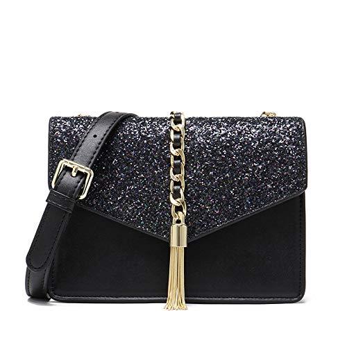 Pu Umhängetasche Mode Quaste Umhängetasche Koreanische Version Der Kette Kleine Tasche Handtaschen