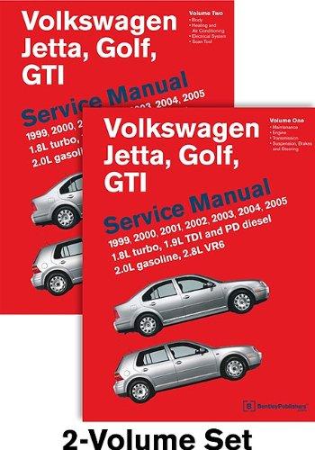 Volkswagen Jetta, Golf, GTI (A4) Service Manual: 1999, 2000, 2001, 2002, 2003, 2004, 2005 - 2 VOLUME