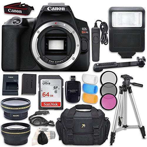 Canon EOS Rebel SL3 DSLR Camera (Body Only) + Accessory Bundle