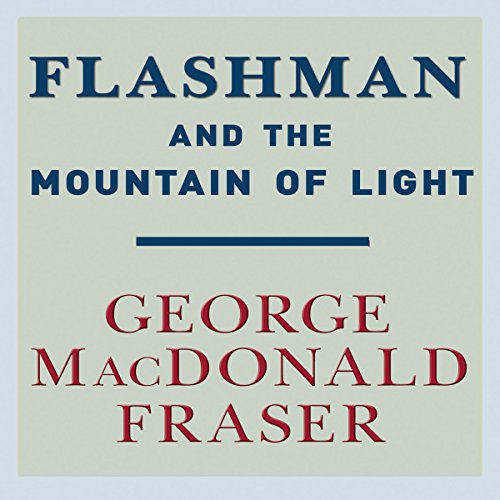 Flashman and the Mountain of Light audiobook cover art