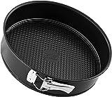 zenker black metallic tortiera apribile 1 fondo, acciaio, nero
