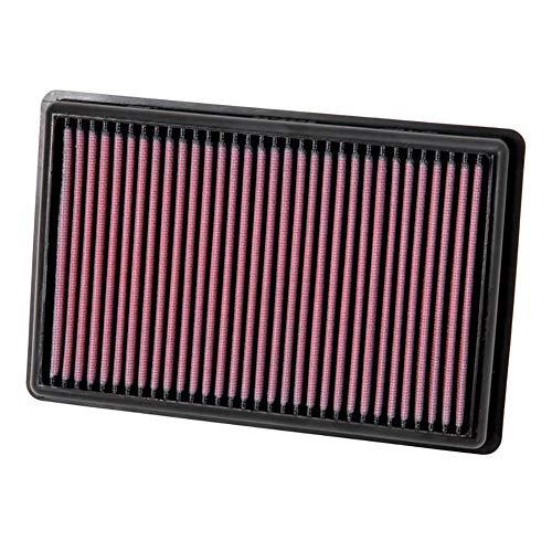 K&N 33-3011 Motorluftfilter: Hochleistung, Prämie, Abwaschbar, Ersatzfilter,Erhöhte Leistung, 2012-2019 (Adam)