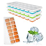 Best Ice Cube Trays - Ouddy Ice Cube Tray, 3 Pack 14 Cavities Review