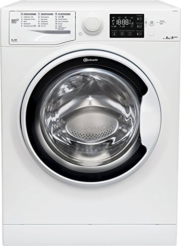 Bauknecht WA P 8G43PS Waschmaschine Frontlader / A+++ -30% / 1400 UpM / 8 kg / langlebiger Motor / Nachlegefunktion / Wasserschutz