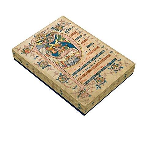 Premium-Weihnachts-Kartenbox: Puer natus est nobis
