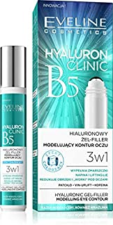 EVELINE HYALURON CLINIC Hyaluronic Eye Contour Gel Filler, 15 ml