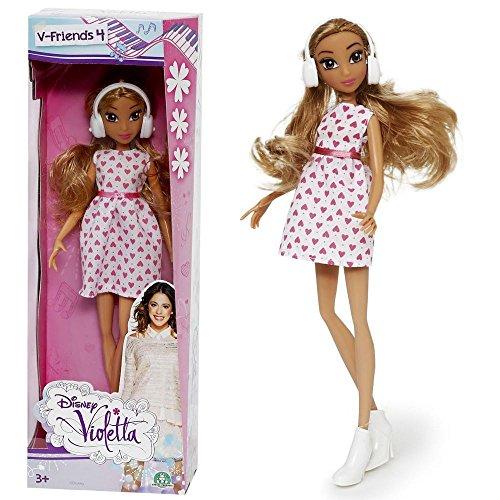 Violetta | Puppe | Fashion Friends | Kleid mit Herzen | 25 cm