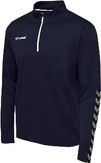hummel Men's Hmlauthentic Half Zip Sweatshirt Sweatshirt