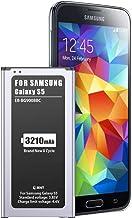 EMNT 3210mAh Akku für Samsung Galaxy S5, Interner Lithium-Ionen-Akku【2020 hohe..