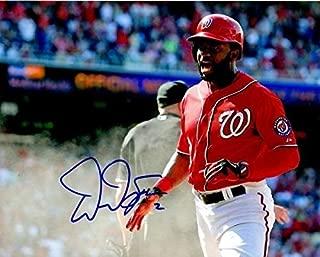 Autographed Signed Denard Span 8x10 Washington Nationals Photo - Certified Authentic