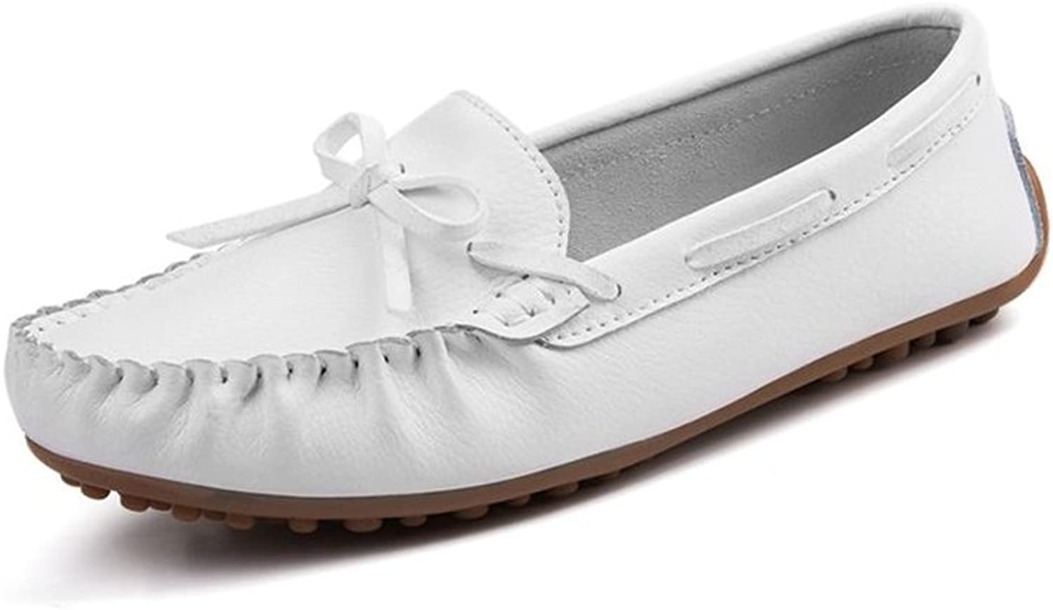 Gusha Non-Slip Flat shoes Comfortable Loafers Casual shoes peas shoes