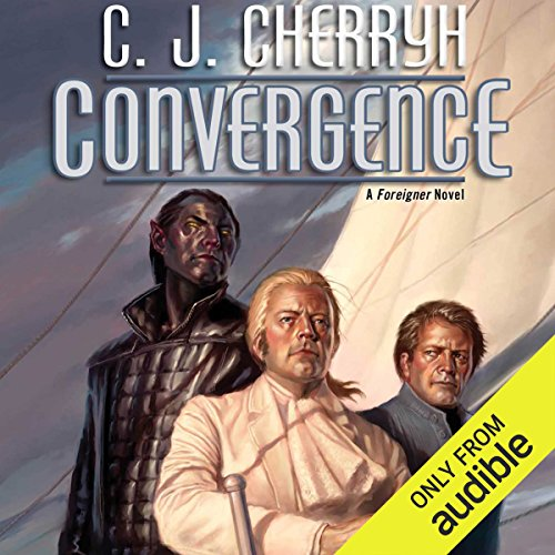 Convergence     Foreigner Sequence 6, Book 3              By:                                                                                                                                 C. J. Cherryh                               Narrated by:                                                                                                                                 Daniel Thomas May                      Length: 11 hrs and 29 mins     304 ratings     Overall 4.6