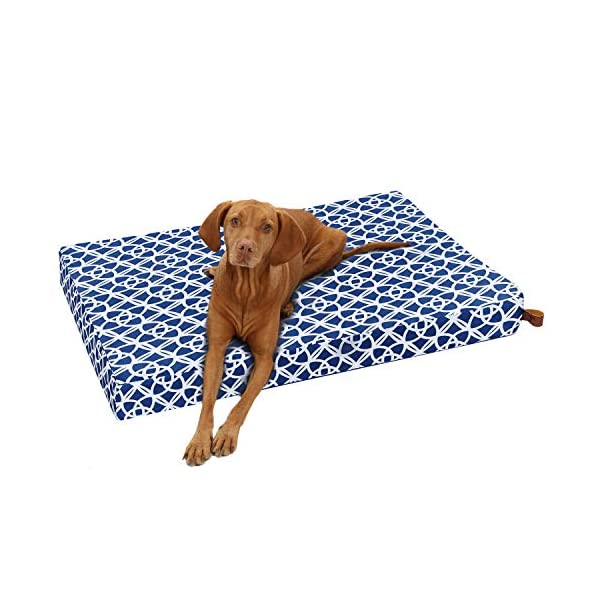 Tempcore Large Dog Bed (M/L/XL) for Small, Medium, Large Dogs Up to 50/80/110lbs -Waterproof Dog Bed with Removable Washable Cover – Orthopedic Egg Crate Foam Water Resistant Pet Mat