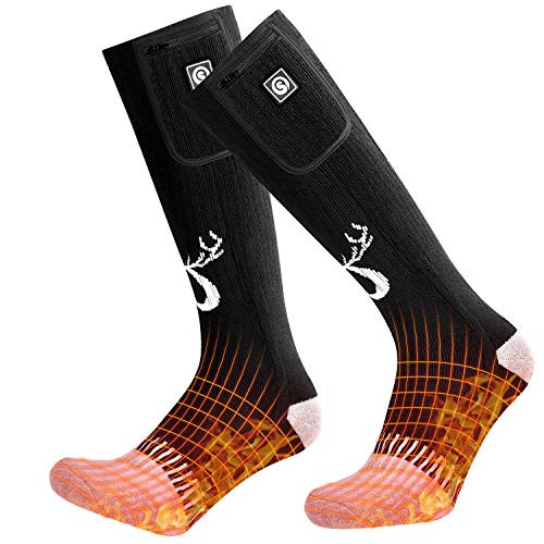 Snow Deer Electric Heated Ski Socks
