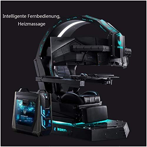 Elektronisches Spiel-Cockpit, Chef-Bürostuhl, Gaming-Computer-Stuhl, Massagestuhl, Ergonomischer Stuhl, Geeignet Für Das Büro Des Präsidenten, Internet-Café-Spiele-Enthusiasten