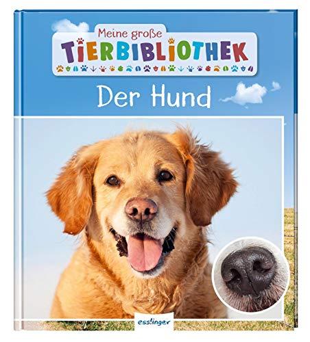 Meine große Tierbibliothek: Der Hund: Sachbuch für Vorschule & Grundschule