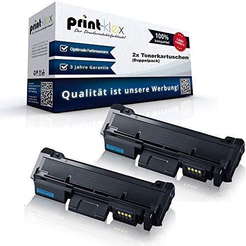 2x Kompatible Tonerkartuschen für Samsung Xpress M2625 FN Xpress M2625 N Xpress M2626 Xpress M2675 FN Premium Line Xpress M2676 Xpress M2825 DW Doppelpack MLT-D116S ELS MLT D116L MLT D116 LELS