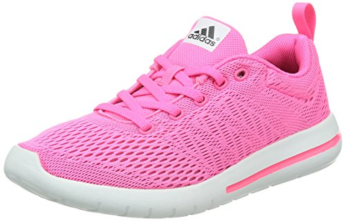 adidas Damen Element Urban Run W, neon rosa, 37 1/3 EU