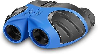 JRD&BS WINL Mini Binocular for Children,Compact Waterproof Binocular Teen Boy Birthday Presents Gifts Boys Toys for 3-12 yr,Best Gifts for 4-8 Year Old Boys(Blue)