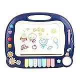 Tablero de Dibujo Magnético Multifuncional Color Soporte Graffiti Tablero de escritura Juguete educativo Música magnética para niños Tablero de dibujo Tablero de Garabatos de Juguetes Educativos