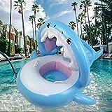 Beautifive Flotadores Piscina para Bebés, Tiburón Hinchable para Piscina con...