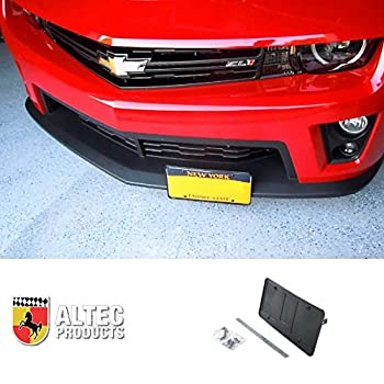 MIDWEST CORVETTE Camaro Front Retractable Manual License Plate Altec Show N  Go Kit Fits  All Camaros