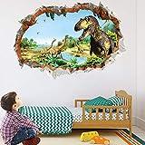 Dinosaurier Wandtattoo Wandaufkleber,Dinosaurier Wandtattoo Kinder,Dinosaurier Wandtattoo Groß,Dinosaurier Wandsticker Kinderzimmer,Dinosaurier Kids Wandtattoo,Wandtattoo Schlafzimmer (DinosaurierA)