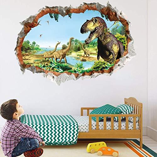 Dinosaurier Wandtattoo Wandaufkleber,Dinosaurier Wandtattoo Kinder,Dinosaurier Wandtattoo Groß,Dinosaurier Wandsticker Kinderzimmer,Dinosaurier Kids Wandtattoo,Wandtattoo Schlafzimmer