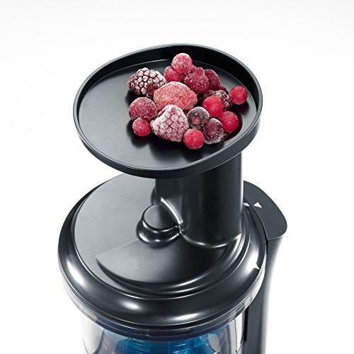 Slow Juicer Entsafter für Gemüse und Obst 150 W Bild 3*