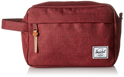 Herschel Chapter Toiletry Kit, Winetasting Kreuzschraffur (Rot) - 10039-01158-OS