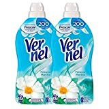 [Pack de 2] VERNEL Suavizante Concentrado Frescor Botella 57 lavados